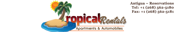Tropical Car Rentals Antigua